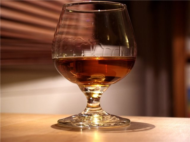 Brandy is useful in diseases of the blood vessels
