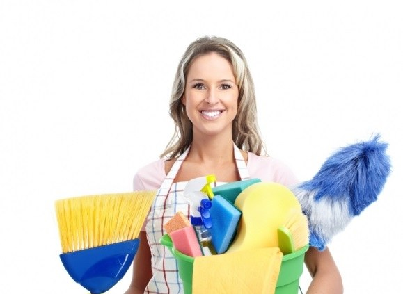 Careful attitude to work is one of the duties of a specialist in cleaning