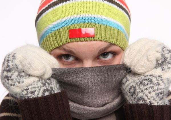 Почему краснеет нос от холода
