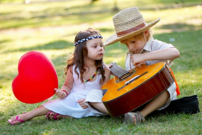 Детская любовь самая искренняя