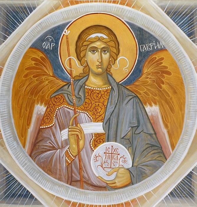 Архангел Гавриил - один из высших ангелов, посланник Господа.