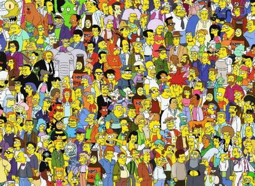 """Фразы за сотни персонажей """"Симсонов"""" говорят меньше десятка человек"""