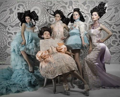 Китайская мода привлекает своей оригинальностью