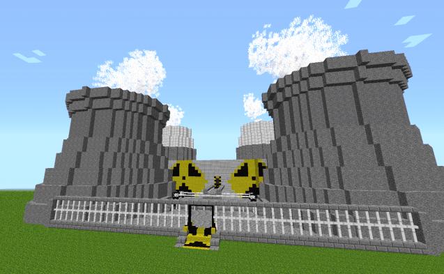 Ядерный реактор в Minecraft весьма опасен