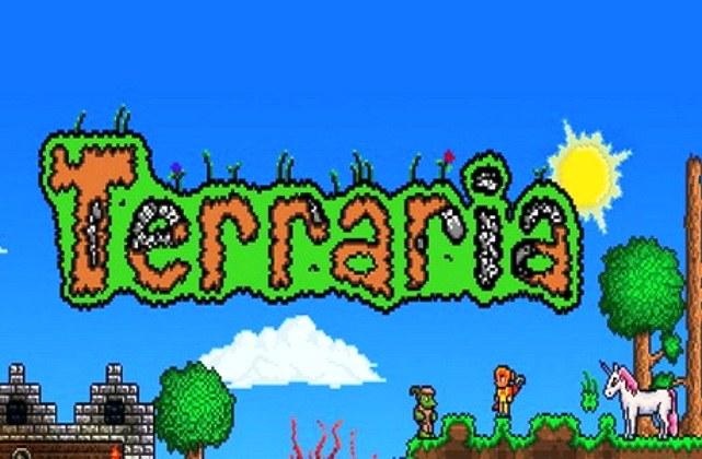 В Terraria много мест с сундуками с сокровищами