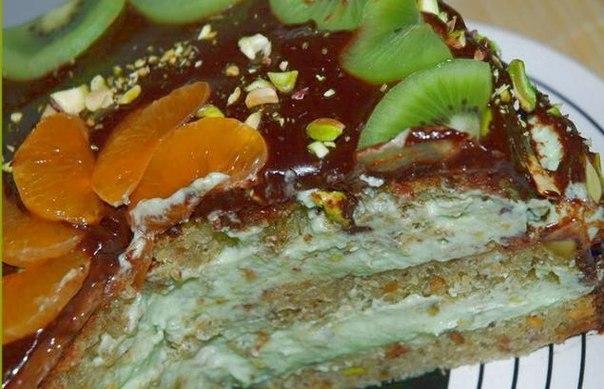Фисташковый торт