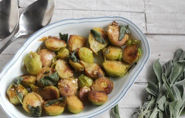 Как приготовить гарнир из жареной брюссельской капусты