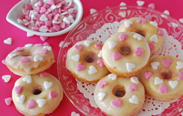 Как приготовить мини-пончики ко дню Святого Валентина