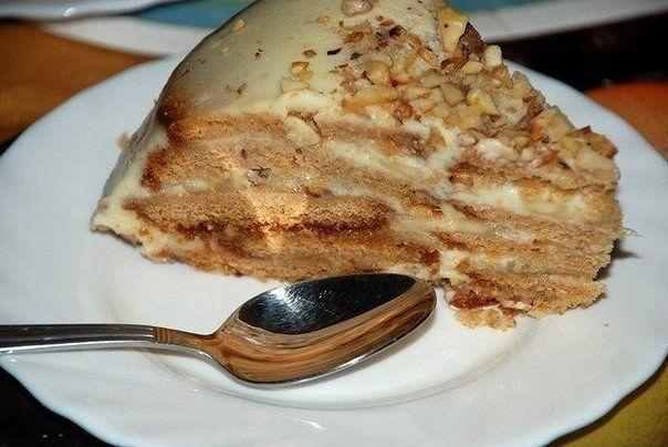 Как приготовить холодный торт