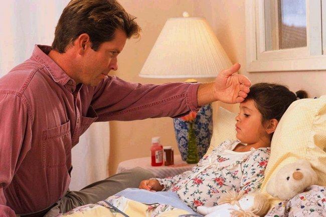Лечение простуды у детей
