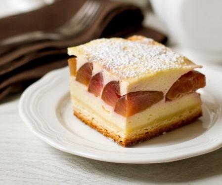 Тюрингский пирог со сливами
