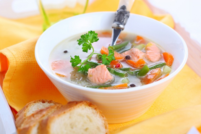 Как приготовить суп из форели