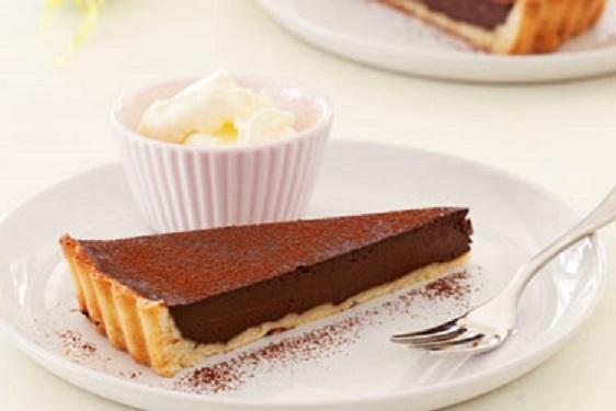 Как приготовить шоколадный тарт