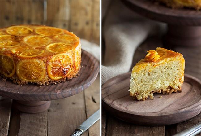 Как приготовить очень красивый апельсиновый пирог