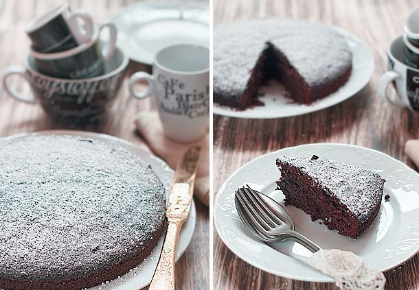 Как приготовить французский шоколадный торт