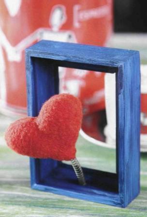 Как сделать валентинку «Живое сердце»