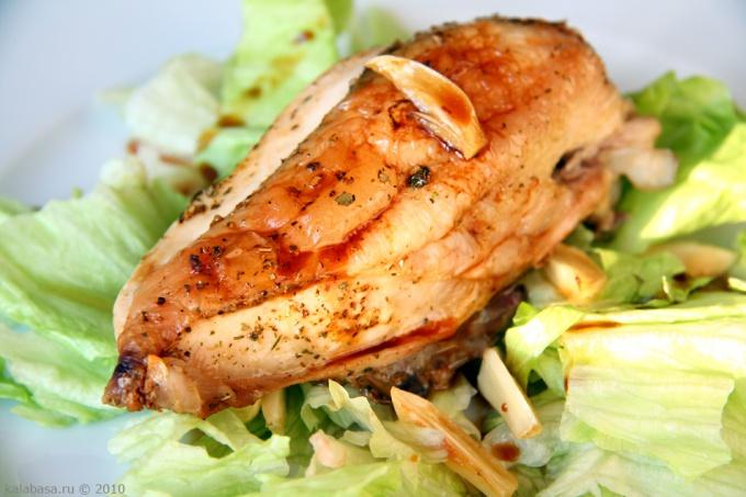 Как приготовить куриные грудки в кефире