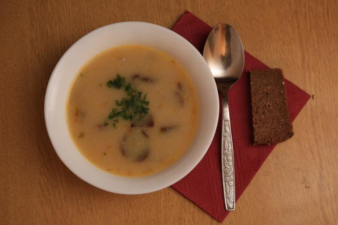 Ароматный суп за 40 минут