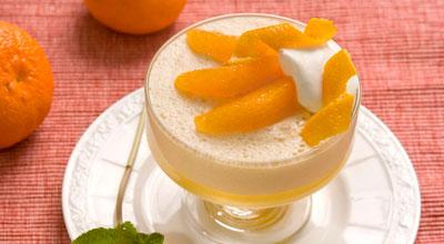 Апельсиново-банановый крем