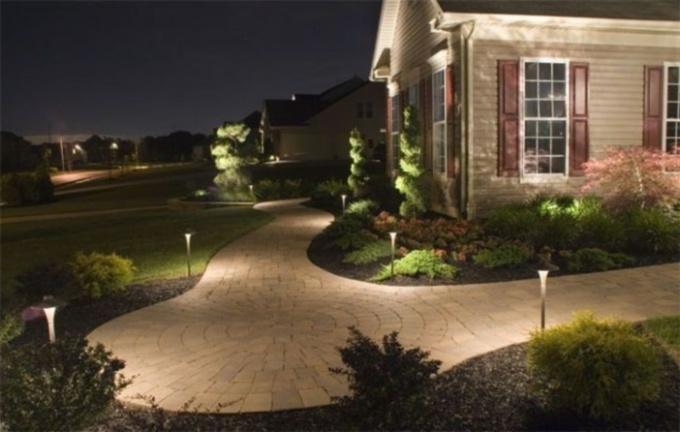 Как выбрать освещение для загородного дома