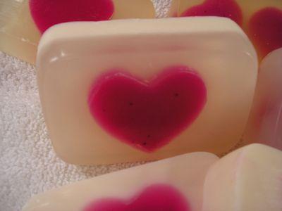 Мыло ко Дню Святого Валентина