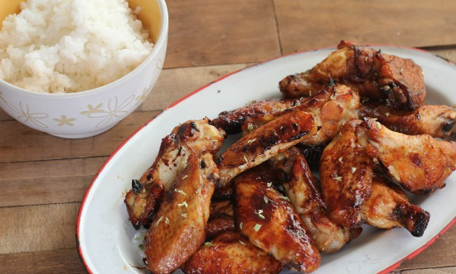 How to cook chicken wings with a crispy crust