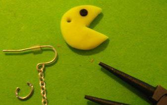 Как сделать сережки из полимерной глины своими руками