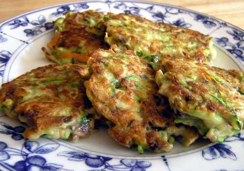 Оладьи из кабачков-цукини: рецепт
