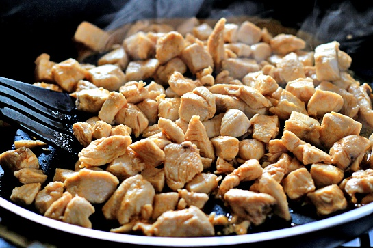 Как приготовить буррито с курицей