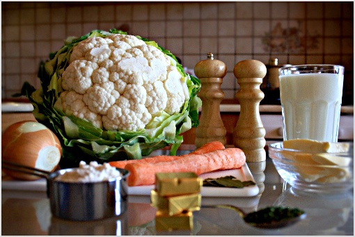 Как приготовить суп из цветной капусты