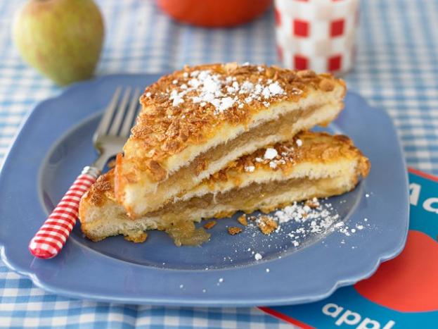 Рецепт пирога с яблочным вареньем
