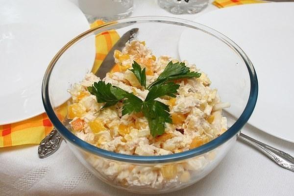 Рецепты острых салатов