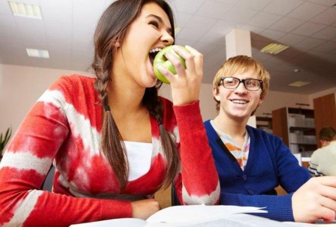 Самая популярная студенческая еда