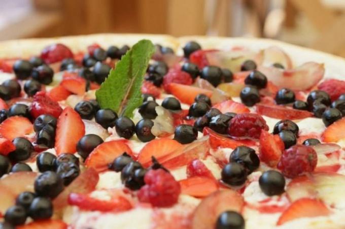 Как приготовить приторную пиццу