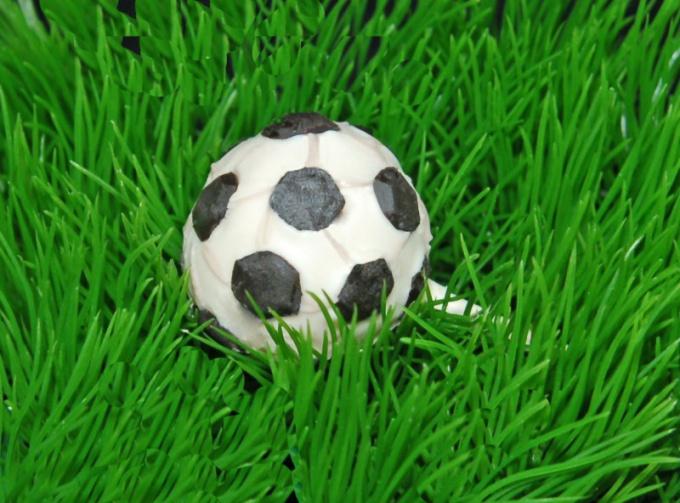 Как сделать торт в виде футбольного мяча