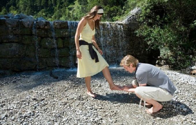 Женщины любят галантность в мужчинах