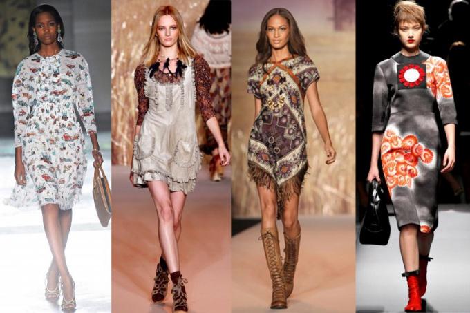 Как стиль модерн проявился в одежде