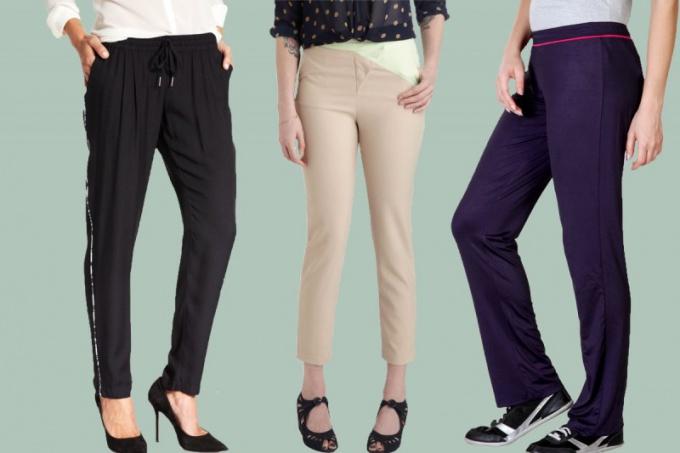Плюсы и минусы брюк для женщины