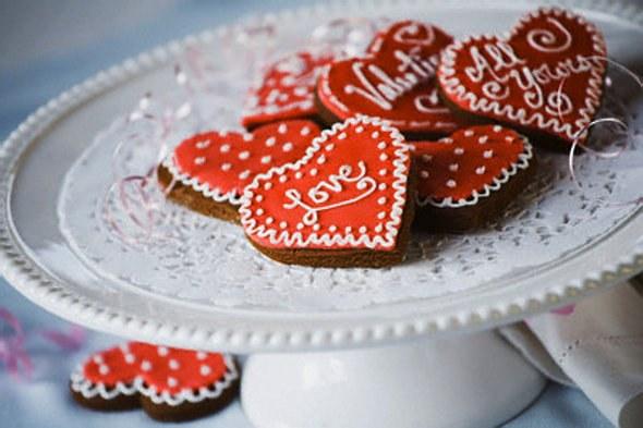 Как приготовить сладкую валентинку