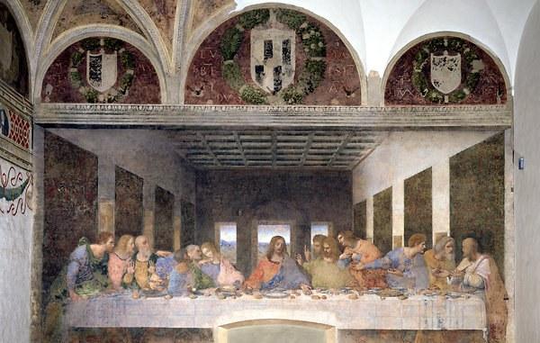 История создания фрески «Тайная Вечеря»
