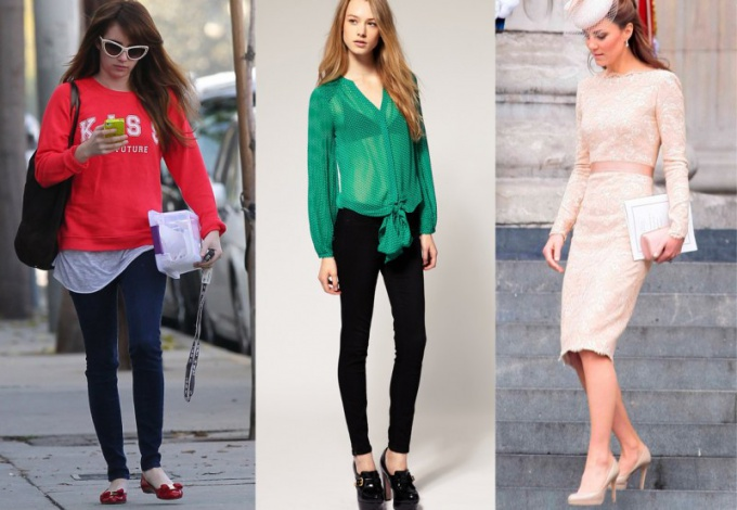 What to wear with women's shoes patent leather