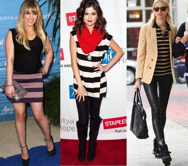 What to wear with stripes