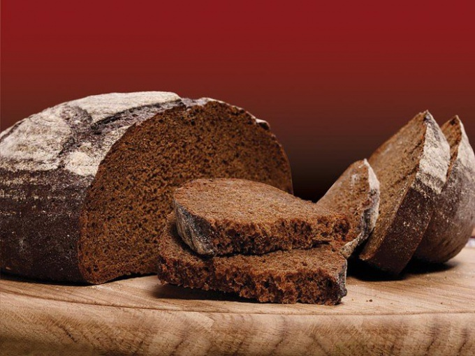 The black bread