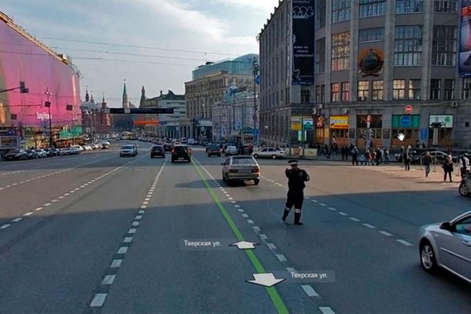 ИДПС в Яндекс Панораме