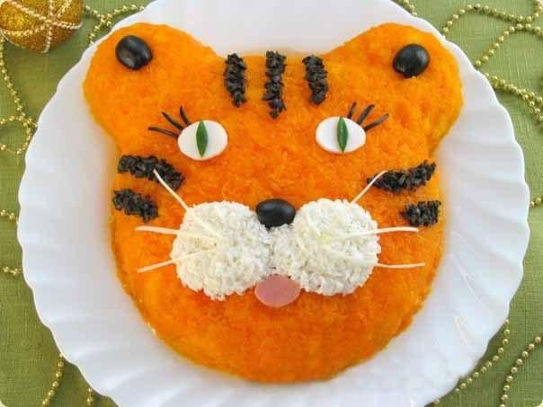 Салат «Тигр» может стать хитом праздничного стола