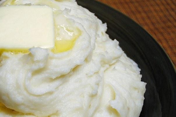 Как приготовить пюре со сливочным маслом