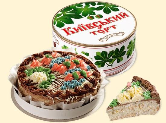Какая история возникновения Киевского торта