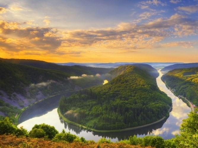 Река Саар, Германия