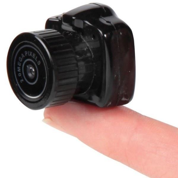 Какой фотоаппарат самый маленький в мире