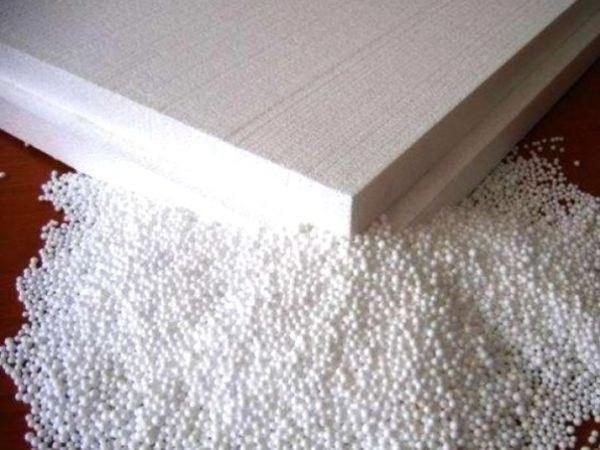 Than glue the foam